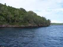 Tonga Island shoreline 2 Stock Photography