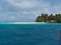 Tonga Island shoreline 3 Royalty Free Stock Photo