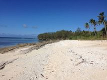 Tonga plaża Zdjęcie Stock