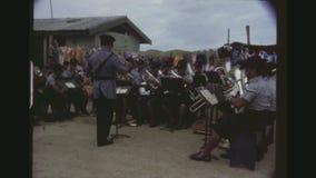 Tonga Police Brass Band stock footage