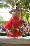 tongan 2个的舞蹈演员 免版税库存图片