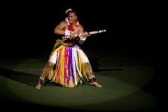 Tongan Dancer at Polynesian Cultural Center Stock Photography