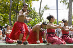 Tongan Dancers 1 Stock Photography