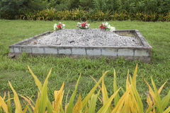 Tongan grave Royalty Free Stock Image