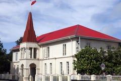 Tongan Parliament building in Nuku'alofa Royalty Free Stock Images