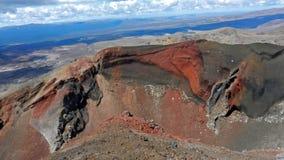 Tongariro alpin strömkrets Fotografering för Bildbyråer
