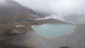 Tongariro alpine Überfahrt Stockfoto