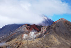 Tongariro Alpine crossing Royalty Free Stock Photography