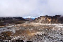 Tongariro Alpine Crossing, New Zealand Royalty Free Stock Photo