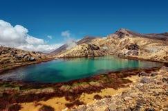 Tongariro Alpine Crossing New Zealand stock photos