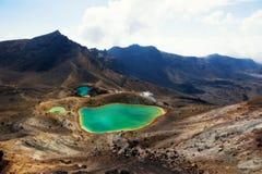 Tongariro Alpine Crossing New Zealand stock photography