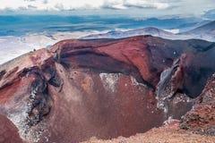 Tongariro Alpine Crossing - Tongariro National Park royalty free stock image