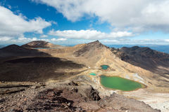 Tongariro Alpine Crossing track, New Zealand Royalty Free Stock Photo