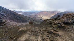 Tongariro alpine crossing,volcano,new zealand 3. Tongariro alpine crossing,volcano crater,new zealand stock photos