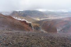 Tongariro alpine crossing,volcano,new zealand 9. Tongariro alpine crossing,volcano crater,new zealand stock image