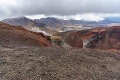 Tongariro alpine crossing,volcano,new zealand 12. Tongariro alpine crossing,volcano crater,new zealand stock photography