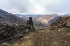 Tongariro alpine crossing,volcano,new zealand 2. Tongariro alpine crossing,volcano crater,new zealand stock photography
