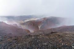 Tongariro alpine crossing,volcano,new zealand 5. Tongariro alpine crossing,volcano crater,new zealand stock image