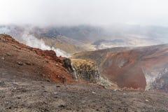 Tongariro alpine crossing,volcano,new zealand 6. Tongariro alpine crossing,volcano crater,new zealand stock photo