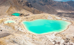Tongariro Crossing Royalty Free Stock Photography