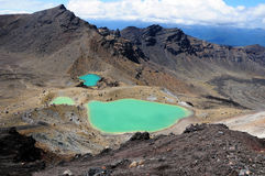 Tongariro Crossing - New Zealand stock photo