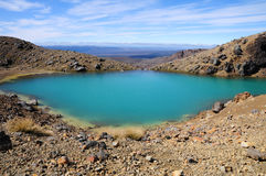 Tongariro Crossing - New Zealand royalty free stock photo