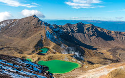 Tongariro Crossing - North Island, New Zealand Stock Image