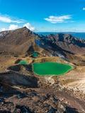 Tongariro Crossing - North Island, New Zealand Royalty Free Stock Images