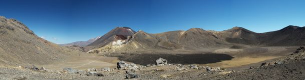 Tongariro crossing track Stock Photography