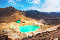 Tongariro Crossing Royalty Free Stock Image