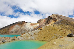 Tongariro Crossing Royalty Free Stock Images