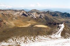 Tongariro die, Nieuw Zeeland kruist Royalty-vrije Stock Fotografie