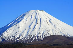 Tongariro National Park. In New Zealand Royalty Free Stock Photos