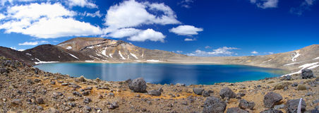 Tongariro National Park lake Royalty Free Stock Images