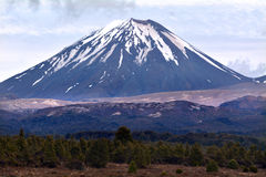 Tongariro National Park - Mount Ngauruhoe Stock Photography