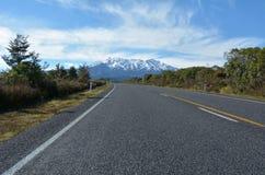 Tongariro National Park - Mount Ruapehu Royalty Free Stock Photo