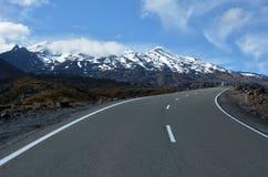 Tongariro National Park - Mount Ruapehu Stock Photography