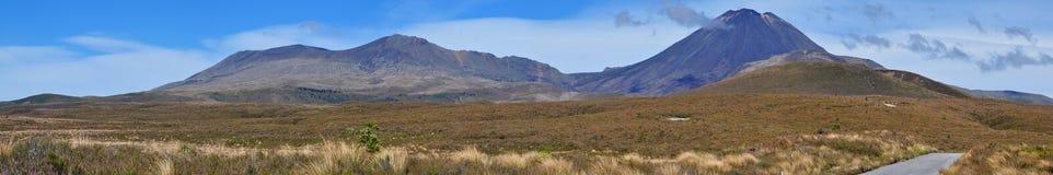 Tongariro National Park. New Zealand, North Island Royalty Free Stock Image