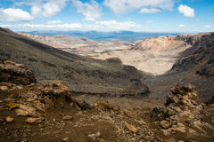 Tongariro National Park in New Zealand Stock Photo