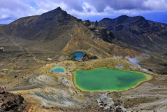 Tongariro National Park, North Island, New Zealand Stock Images