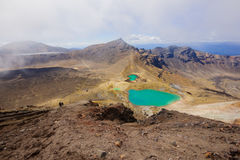 Tongariro nationalpark Arkivfoto