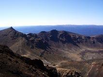 Tongariro Nationalpark - przegląd Zdjęcie Stock