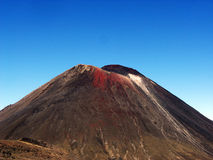 Tongariro Nationalpark - Vulcano Fotografia Stock