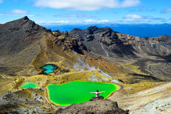 Tongariro skrzyżowanie Fotografia Stock