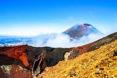 Tongariro skrzyżowanie Zdjęcie Stock