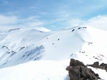 Tongariro Snowscape Stock Photos
