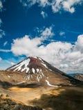 Tongariro vulkan Royaltyfri Fotografi