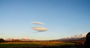 Tongariro wulkan Obraz Royalty Free