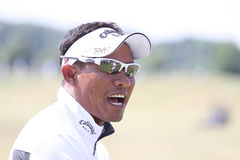 Tongchai Jaidee au Français de golf ouvrent 2010 Photo libre de droits