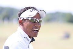 Tongchai Jaidee bij golf het Frans opent 2010 Royalty-vrije Stock Foto